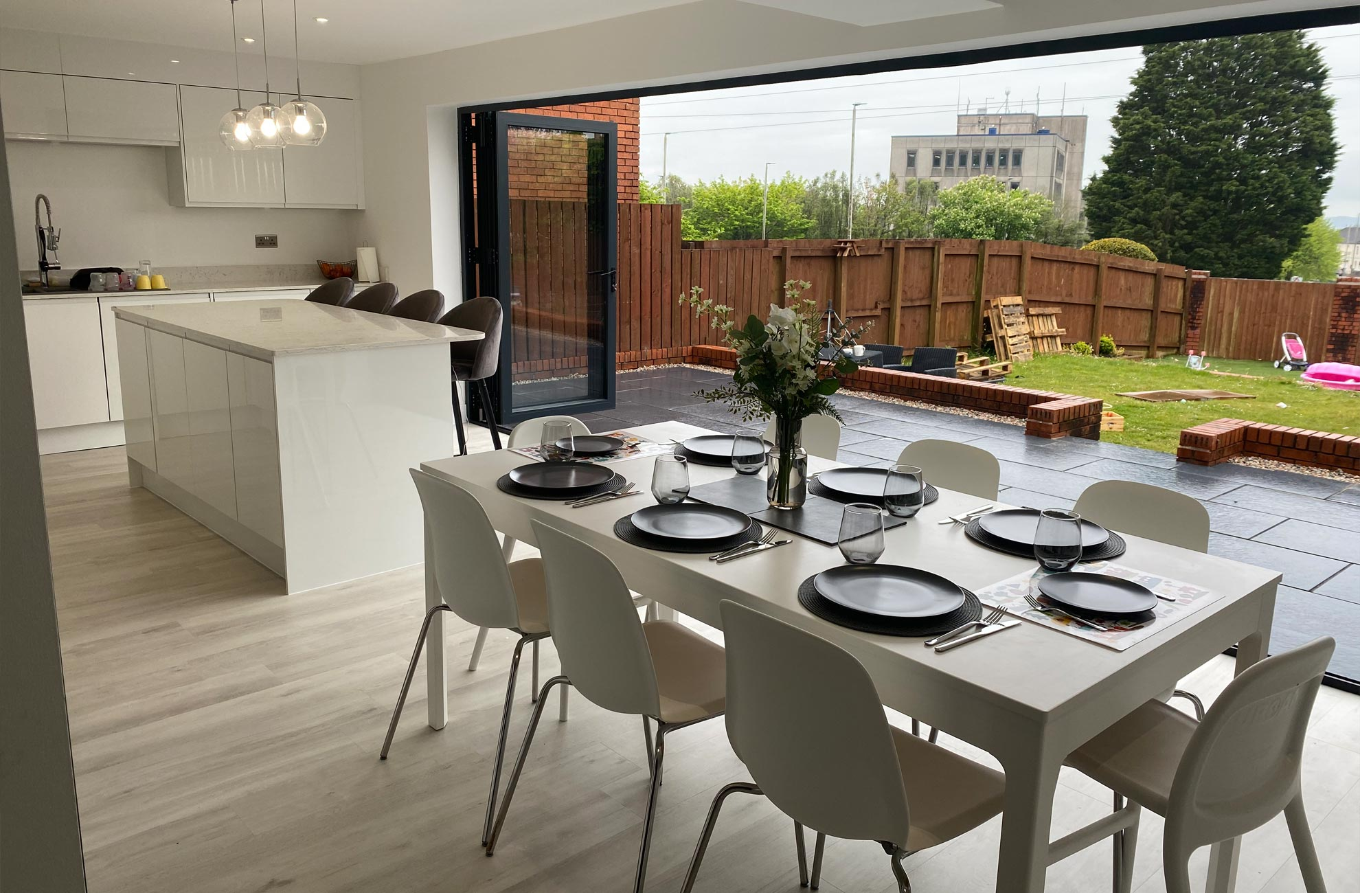 Magnify Construction Building Extensions Ground Works Gardens Kitchen Fitting