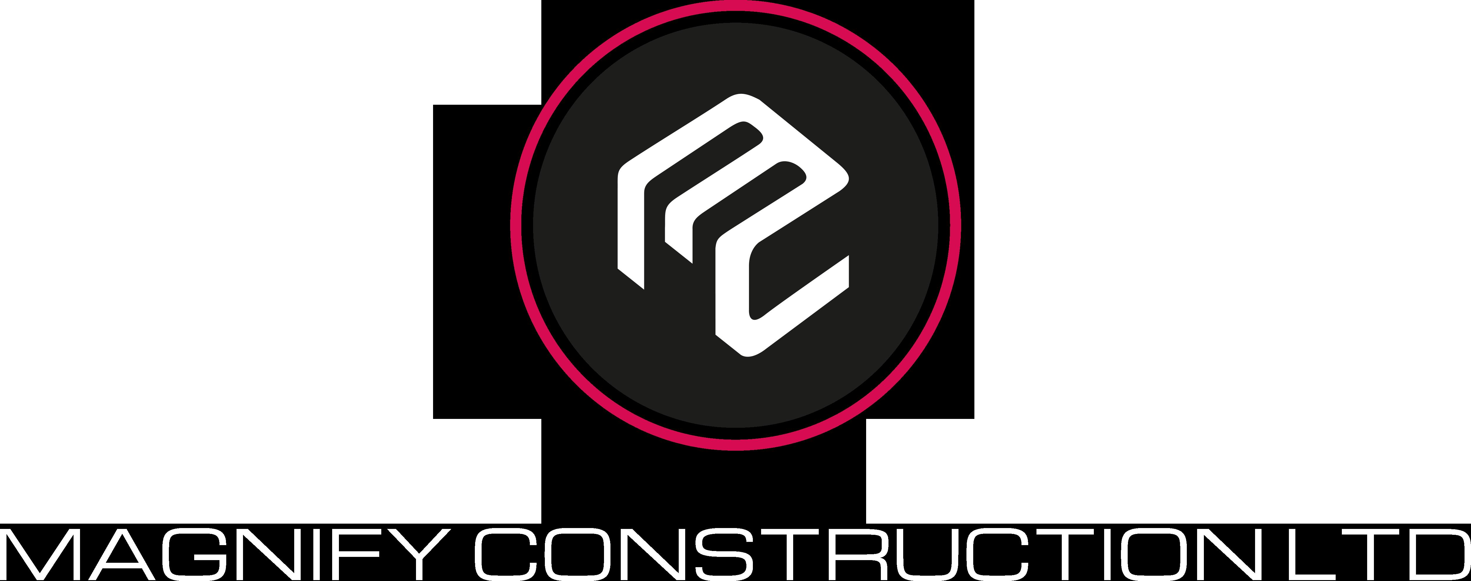 Magnify Construction Logo