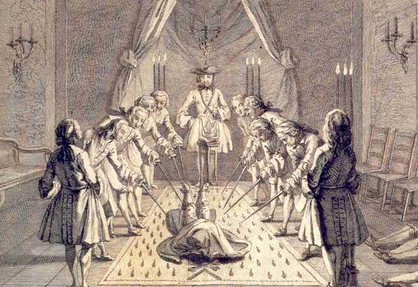 Masons initiation
