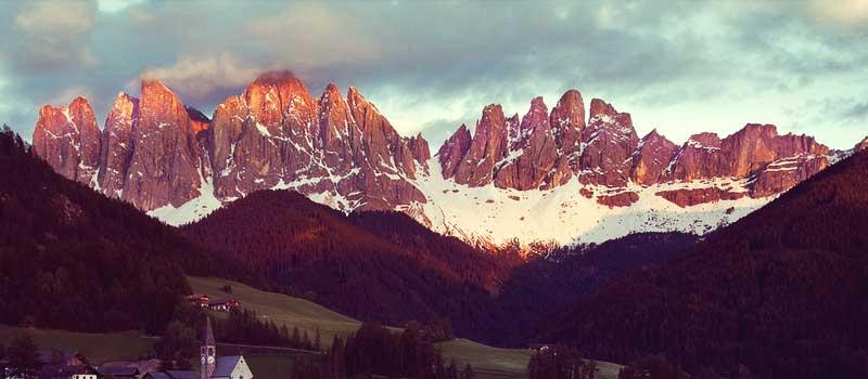 Alpen glow Tyrol