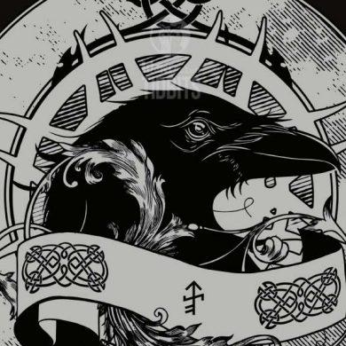 Raven T-shirt design