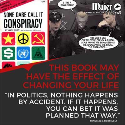 Maier files Conspiracy