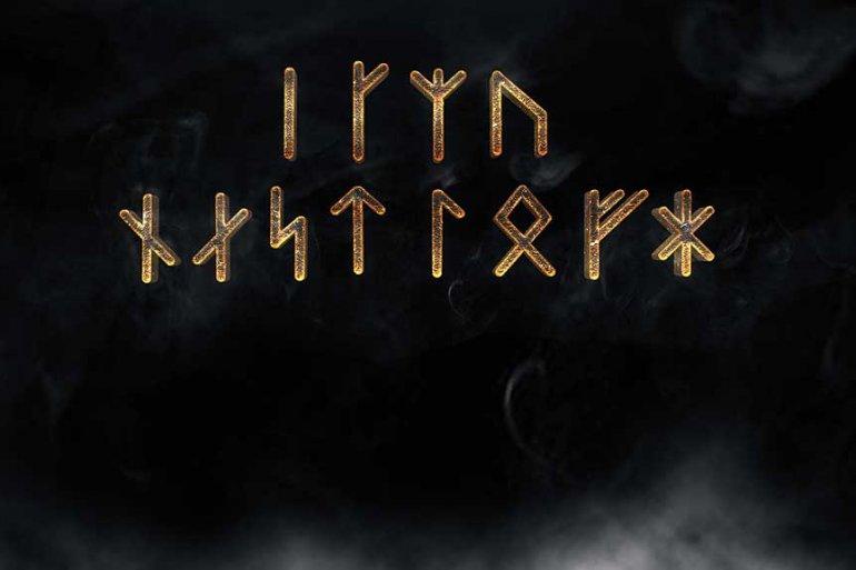 Albruna rune sequence