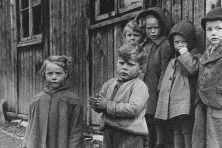 German children deportation
