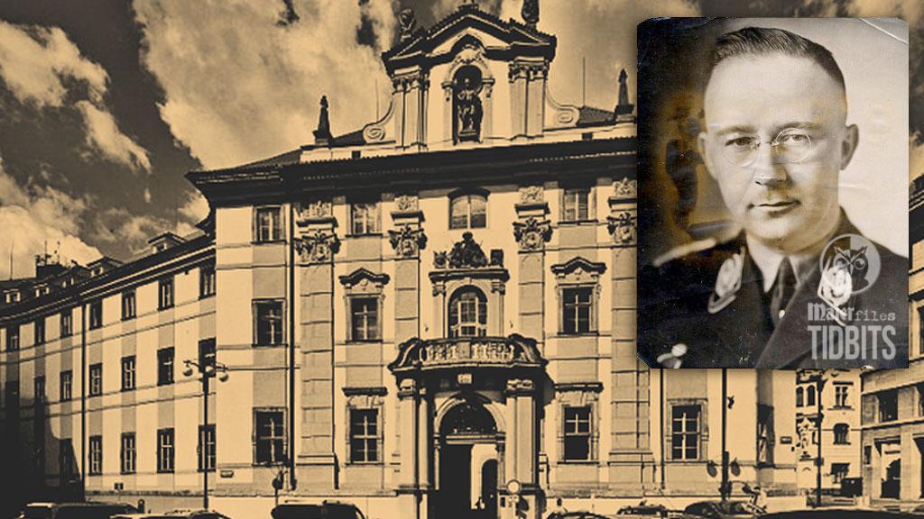 Himmler's book stash Czech Library