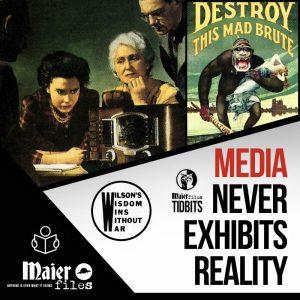 Media never exhibits Reality