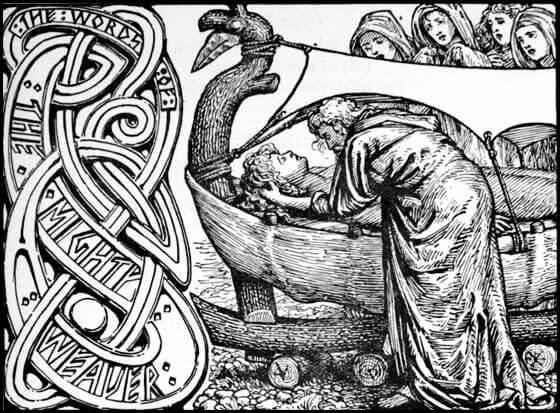 Odin and Baldr