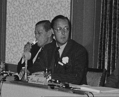 Retinger and Bernhard