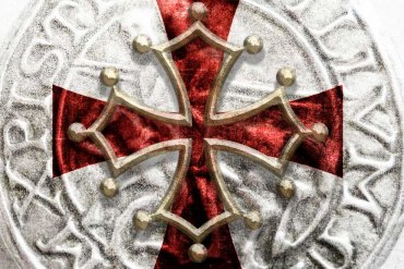 Templar cross and Cathar Cross