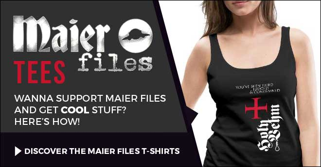 Maier files T-shirts Holy Vehm