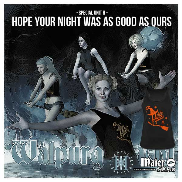 Maier files witches Walpurgis