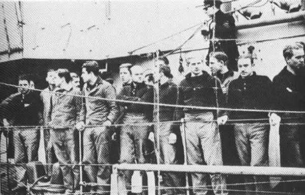 The crew of U-35