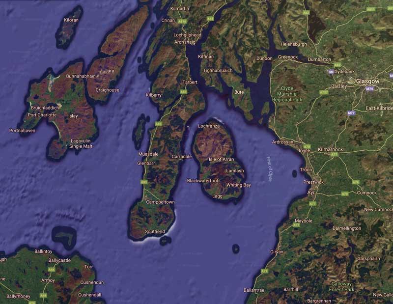 The Isle of Arran Scotland