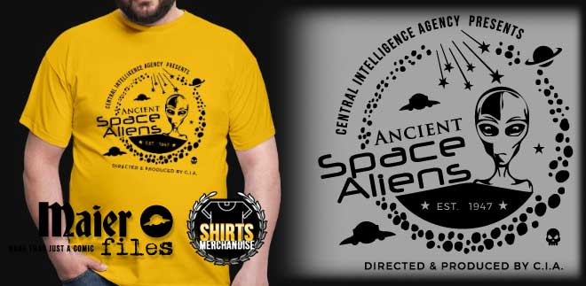 Ancient Space Aliens T-shirt