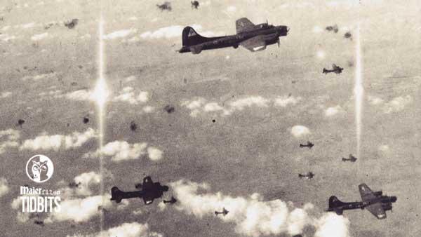 Foo fighters in German skies