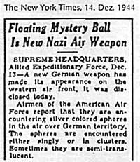 Nazi air weapon