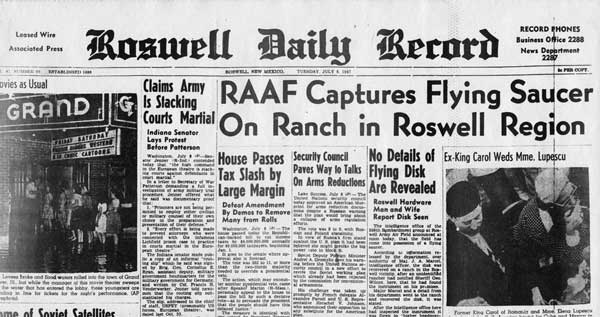 Roswell Daily Record 1947
