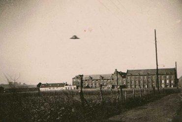 UFO Liedekerke 1945 Flanders
