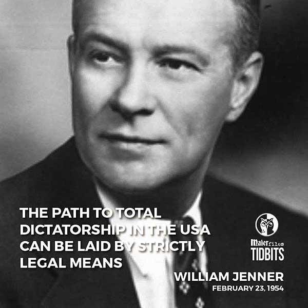 U.S. Senator William Jenner