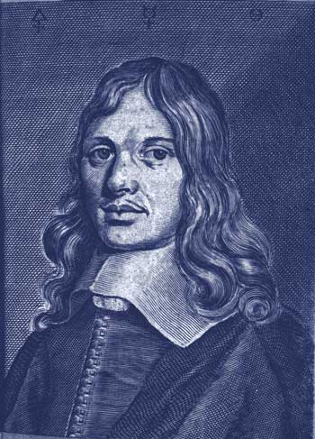 Portrait engraving Schweitzer who saw the Philosper's Stone