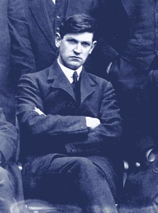 Portrait Michael Collins - Dublin Brigade