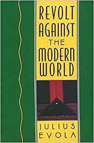 book cover Revolt against the modern world