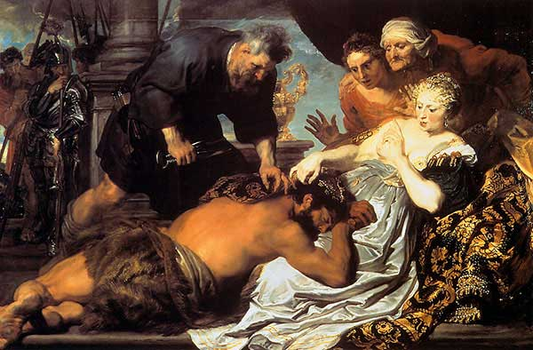 Samson & Delilah (Van Dyck)