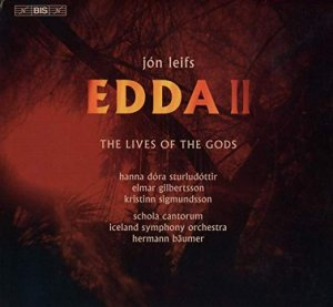 Edda II Jon Leifs Audio CD