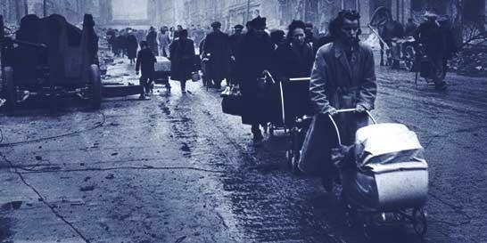 hellish post war times in Berlin