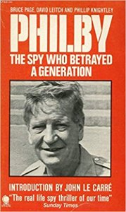 """book cover """"Philby: The spy who betrayed a generation"""