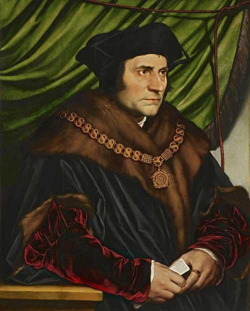 Portrait Thomas More - Utopia