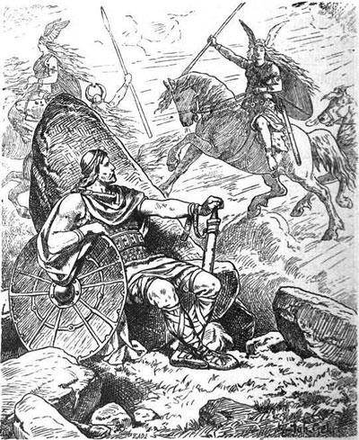 Helgi and Valkyrie Sigrun