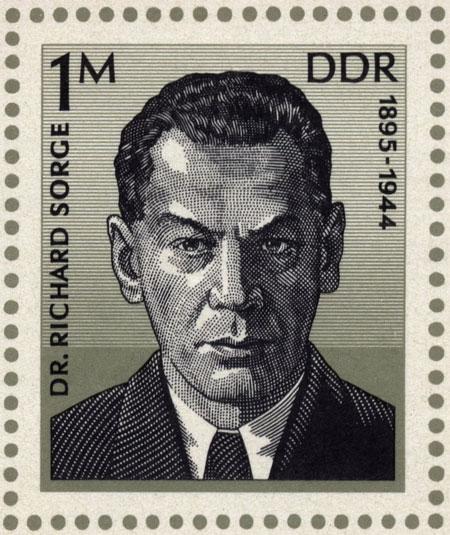 Richard Sorge DDR stamp