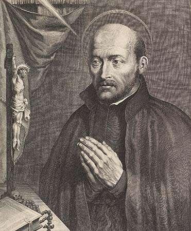 Ignatius of Loyola - founder of the Jesuits