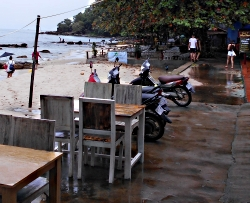 Strand i Sihanoukville