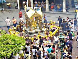 Erawan alteret - Bangkok