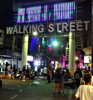 Walking Street portalen - Pattaya