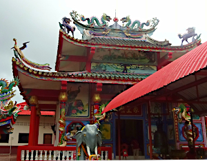 Kinesisk Tempel i Thailand
