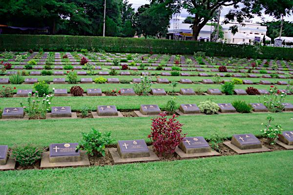 kanchanaburi Krigskirkegård