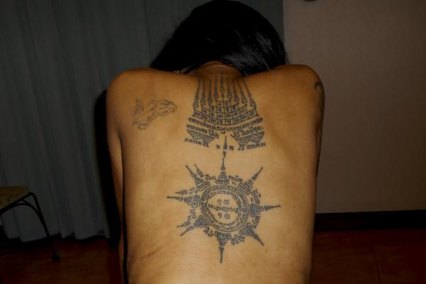 Sak Yant - magiske tatoveringer