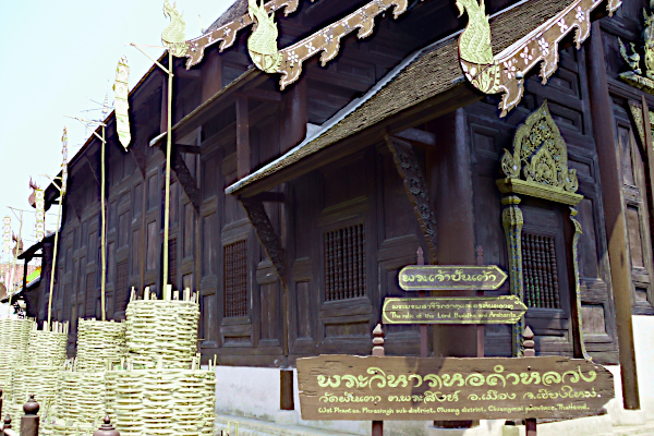 Wat Phan Tao - Chaing Mai