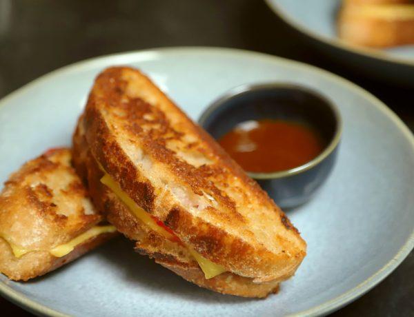 recept om vegan tosti te maken