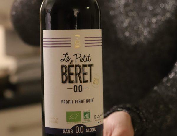 alcoholvrije rode wijn Le Petit Beret 0.0 Profil Pinot Noir