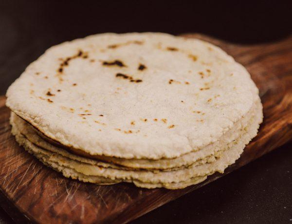 Recept om zelf maïstortilla's te maken