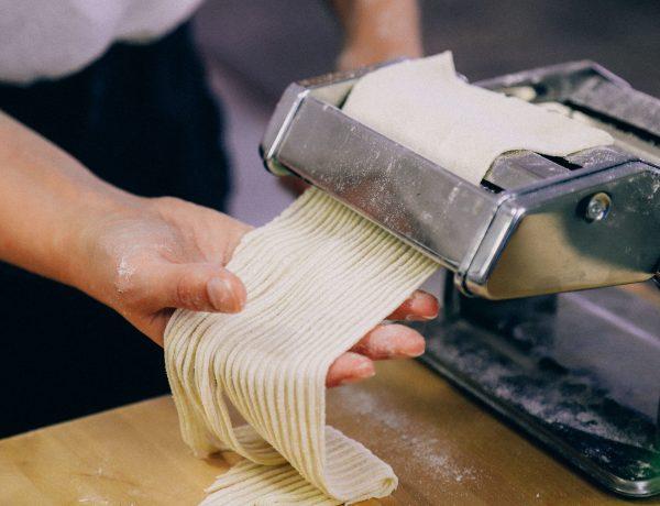 recept om zelf verse pasta te maken vegan zonder ei