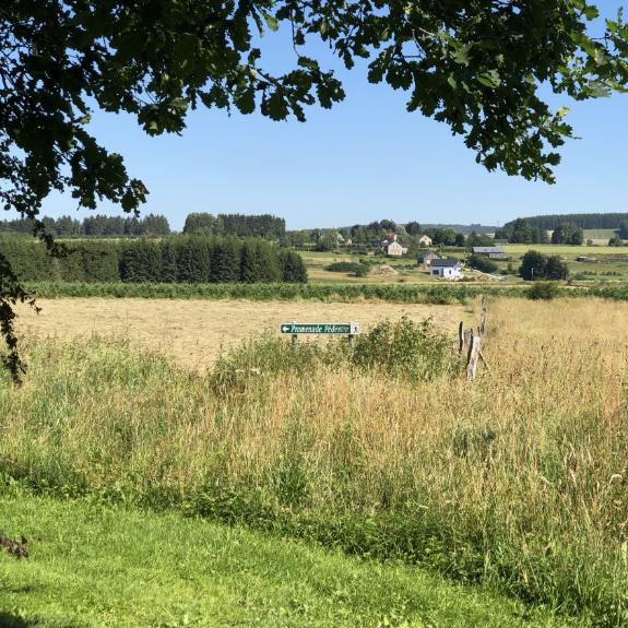 Wandeling van Maison 25 naar La Grange en dorp Achouffe (4 kilometer)