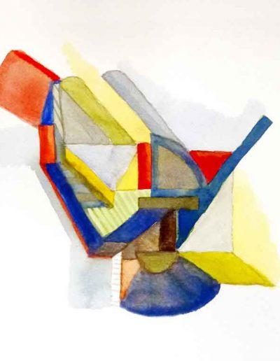 Majbrit Nielsen, Grafisk Akvarel