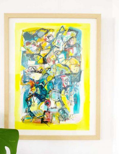 Akvarel/acryl