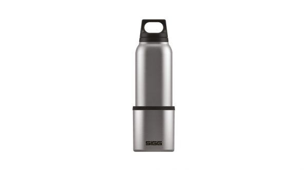 Thermo Flask & Cup Hot & Cold Brushed 0.5l