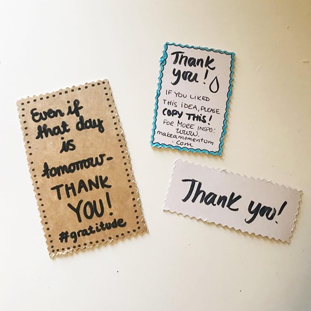 Slik lager du re-gifting tags